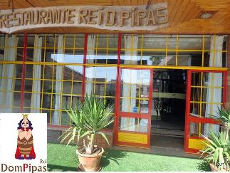 The entrance to the Dom Pipas Restaurant.