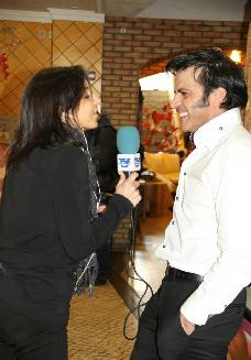 Francisco Peças, being interviewed by TSF.